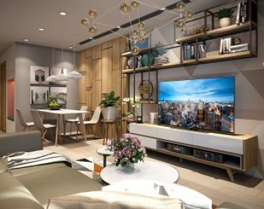 DESIGN INTERIOR APARTMENT CT3 PHUOC HAI